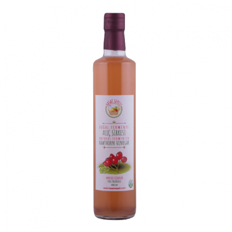 Doğal Fermente Alıç Sirkesi (500ml.)